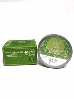 Липосомальные патчи с зеленым чаем и алоэ